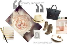february favorites ///