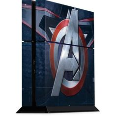 Avengers Captain America Bust Playstation 4 PS4 Console Skin