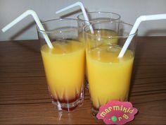 Cocktail à la grenadine et à l'orange pour enfants