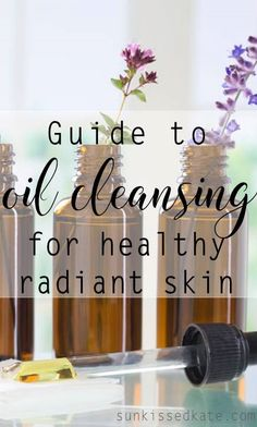 """Oil Cleansing for Radiant Skin. When you think """"cleansing"""" you probably automatically think of foaming soaps, and abrasive scrubs. All of these lead to DRY SKIN. Maybe you're thinking that that's the only way to remove excess oil from your skin, but you'd be wrong. Drying out your skin with soapy cleansers will cause your skin to overcompensate and you will be left with even more oily skin! Oils used in oil cleansing actually break down the oils on our skin that can clog pores. Dissolving…"""