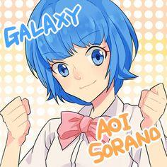 Tags: Anime, Spotted, Spotted Background, Inazuma Eleven GO, Sorano Aoi, Pixiv Id 3597700, Inazuma Eleven GO Galaxy