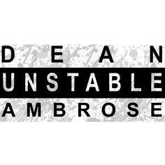 WWE Dean Ambrose  iron on