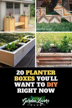 Check out these creative ways to make planter boxes and add style to your yard or patio. Garden Planter Boxes, Entrance Ways, Fall Planters, Garden Club, Front Yard Landscaping, Container Gardening, Patio Ideas, Backyard Ideas, Garden Ideas