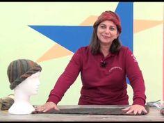 Gorro Ludmila em trico com Cisne Original executado por Cristina Amaduro em Luau Tv - YouTube