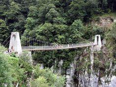 Gorges de Kakuetta et passerelle d'Holzarte en Soule, Pays basque