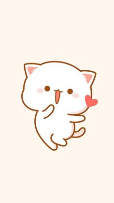 Pin by liriel angel on papel de parede de gato in 2019 милые обои, обои для Doodles Kawaii, Cute Doodles, Diy Kawaii, Kawaii Cat, Cute Bear Drawings, Kawaii Drawings, Chibi Cat, Cute Chibi, Kawaii Wallpaper