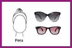 gafas para rostro pera