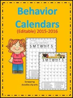 ... on Pinterest | Behavior Calendar, Clip Charts and Behavior Clip Charts