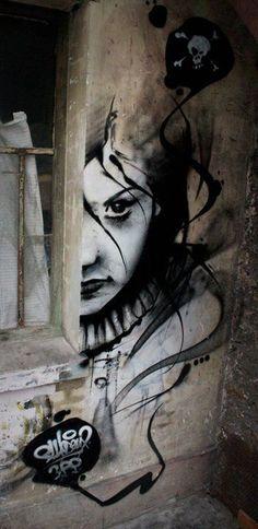 By Sly2 - Paris (France)! #streetart jd