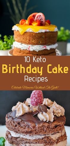 Do you have a birthday party coming up and need an easy cake to make without the carbs? Check out these keto birthday cake recipes to try out! birthday dinner 10 Keto Birthday Cake Recipes In Minutes: Celebrate Memories WITHOUT The Guilt! Keto Desserts, Healthy Cake Recipes, Keto Recipes, Dessert Recipes, Cheap Recipes, Ketogenic Recipes, Easy Desserts, Keto Cupcakes, Keto Cake