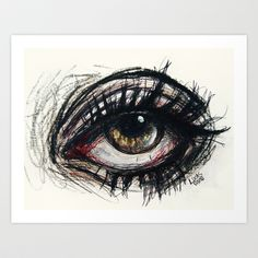 if you see this Art Print by Lucas David - $15.00