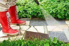 Zo verwijder je snel en effectief groene aanslag van je terras of balkon…