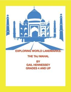 Explore World Landmarks are great to introduce kids to some popular world landmarks around the world. About one page of reading, discussion questions and extension activities all help students learn some informative facts about famous world landmarks in the world. This reading is on the the Taj Mahal! 9 pages $