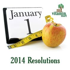 5 New Year Resolutions for 2014 – MyVitaminMart
