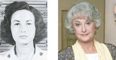 Staff Sergeant Bea Arthur, United States Marine Corps, 1943 – 1945  While the Marine Corps might seem an unlikely place for a future Golden Girl, Bea Arthur apparently served in the Corps for 30 months as a truck driver and typist. She was one of the initial recruits to the Women's Reserve and rose the rank of Staff Sergeant during her World War II service.