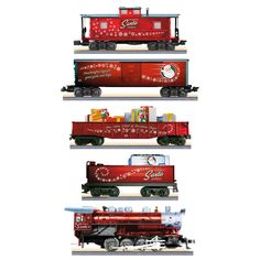 LIONEL® Toymaker Santa Express Complete Ready-to-Run Electric Train Set