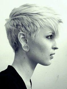 capelli corti rasati donne - Cerca con Google