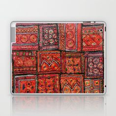 Buy Red Traditional Moroccan Design - A3 Laptop & iPad Skin by mr0frankenstein. Worldwide shipping available at Society6.com. Just one of millions of high quality products available.