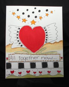 All Together Now by HumanTuneUp on Etsy