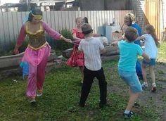 Детский праздник со Сценарием Алладин и Жасмин