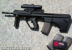 ONLINE EXCLUSIVE: Sneak Peek: STEYR ARMS AUG/A3 SA  Fresh bullpup fire hits American shores!