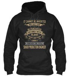 Senior Production Engineer #SeniorProductionEngineer