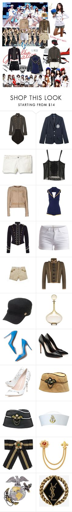 """""""SNSD; Genie Performance Outfits"""" by nahed-lakjaa ❤ liked on Polyvore featuring Bird by Juicy Couture, Ralph Lauren, Quiksilver, TAXI, Jill Stuart, Chloé, LUCY IN DISGUISE, Denim & Supply by Ralph Lauren, Pieces and Zadig & Voltaire"""