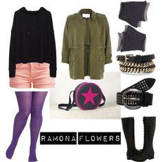 Ramona Flowers cosplay