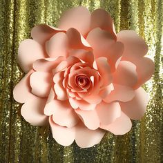 How to make realistic paper vines and leaves diy paper flowers paper flowers pdf petal 79 wild rose paper flower template digital version original design by annie rose mightylinksfo