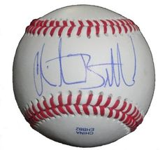 Christian Bethancourt Autographed ROLB Baseball, Atlanta Braves, Proof Photo by Southwestconnection-Memorabilia. $44.99. This is a Christian Bethancourt autographed Rawlings official league baseball. Christian signed the ball in blue ballpoint pen. Check out the photo of Christian signing for us. Proof photo is included for free with purchase. Please click on images to enlarge. 1