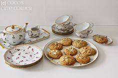 Cookies mit Aprikosen und Mandeln - für gemütliche Teestunden