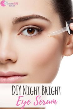 53c7be2c2b1 Try this DIY Eye Serum Recipe to reduce puffiness and brighten those  beautiful eyes! No need to waste money on expensive anti-aging eye creams  when you can ...