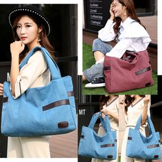 Women Large Tote Top Handle Shoulder Bags Cartoon Funny City Landscape Train Track Satchel Handbag