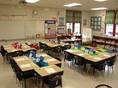 Neat classroom!