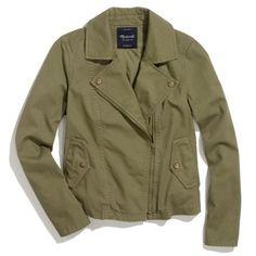 Madewell utility biker jacket