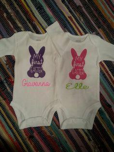 Easter Bunny Ears Monogram Frames Svg Cutting File Bunny