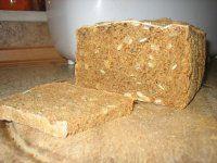 Tmavý žitný chléb