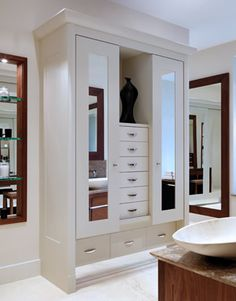 Extension ideas on pinterest dressing rooms stair for Bedroom designs with attached bathroom and dressing room