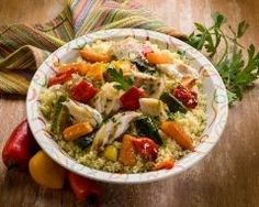 Couscous au poisson et légumes