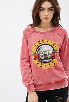 Guns N' Roses Graphic Sweatshirt | FOREVER21 - 2000135402