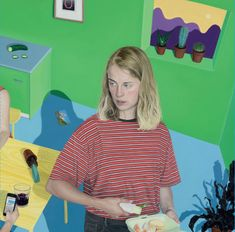 The cover of Marika Hackman album I'm Not Your Mean features a striking image by London artist Tristan Pigott, inspired by song titles and recurring them...