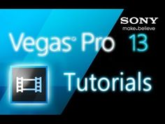 Sony Vegas Pro 13 - How to Add Transitions and Effects [Tutorial] - YouTube