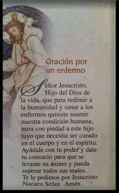 Catholic Prayer For Healing, Catholic Prayers In Spanish, Prayer Of Praise, Spiritual Prayers, Spiritual Messages, Prayers For Healing, Catholic Quotes, Faith Prayer, God Prayer