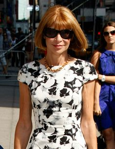 Anna Wintour - Editor-in-chief of American Vogue