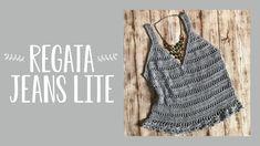 Crochet Blouse, Crochet Bikini, Free Crochet, Knit Crochet, Crochet Woman, Crochet Clothes, Ideias Fashion, Crochet Patterns, Crop Tops