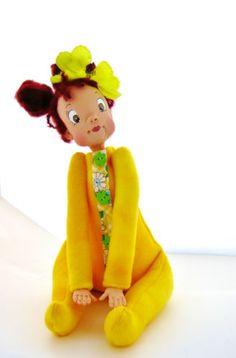 Ooak Art Doll Baby - Sunnie