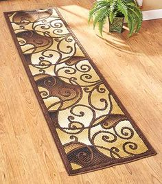 Protect floors in high-traffic areas of your home with the lovely Extra-Long Decorative Runner Rugs. It makes for great room decor and keeps the floor fresh!