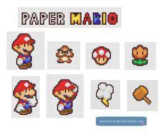Paper Mario by Hama-Girl.deviantart.com on @deviantART