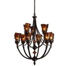 Uttermost 21228 Carolyn Kinder Vitalia 9 Lt Chandelier