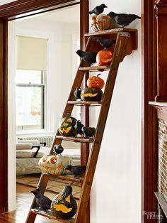 Love the ladder idea